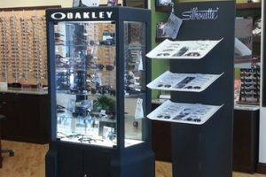 Oakley Silhouette displays